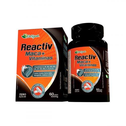 Reactiv - Maca Peruana, Vitaminas e Minerais